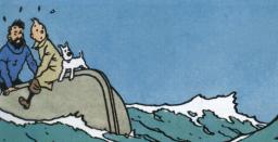 Tintin till sjöss